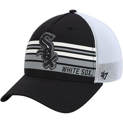 Men's '47 Black Chicago White Sox Altitude MVP Adjustable Hat