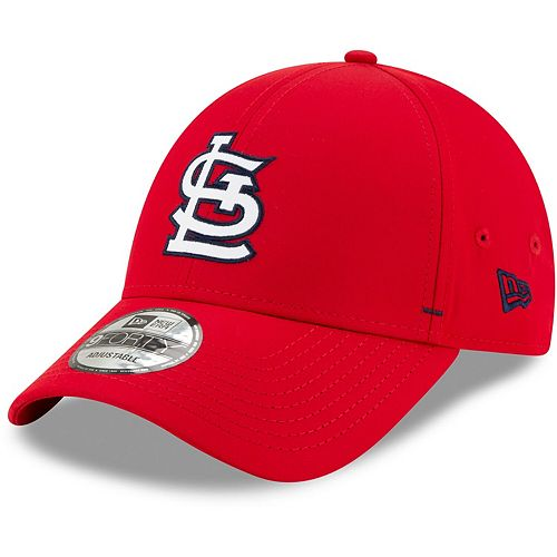 Men's New Era Red St. Louis Cardinals Dash Featherweight 9FORTY Adjustable Hat