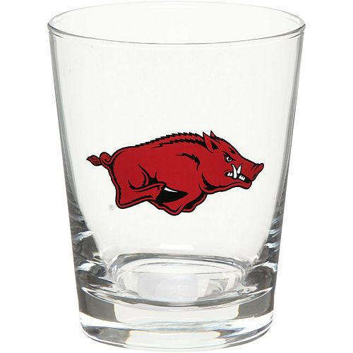Arkansas Razorbacks 15oz. Double Old Fashioned Glass