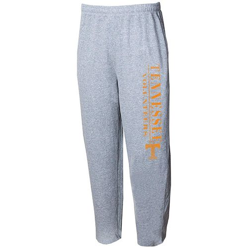 Men's Concepts Sport Gray Tennessee Volunteers Tri-Blend Mainstream Terry Pants