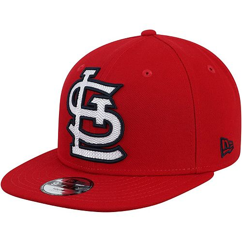 Youth New Era Red St. Louis Cardinals Threads 9FIFTY Adjustable Hat