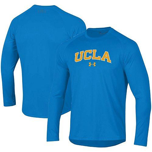 Men's Under Armour Blue UCLA Bruins School Logo Tech 2.0 Performance Long Sleeve T-Shirt