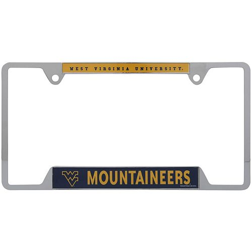WinCraft West Virginia Mountaineers License Plate Frame