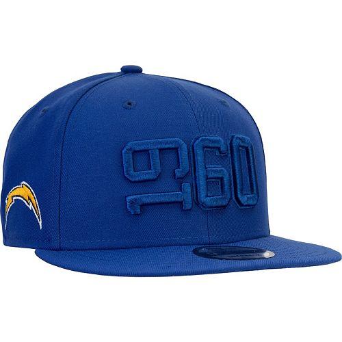 Men's New Era Blue Los Angeles Chargers 2019 NFL Sideline Color Rush 9FIFTY Adjustable Snapback Hat