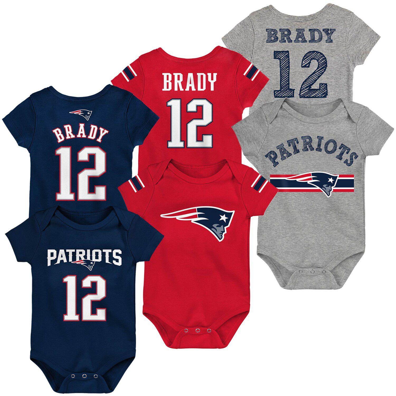 patriots baby brady jersey