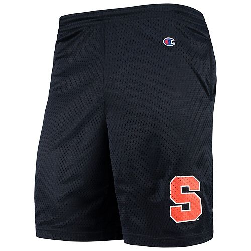 Men's Champion Navy Syracuse Orange College Mesh Shorts