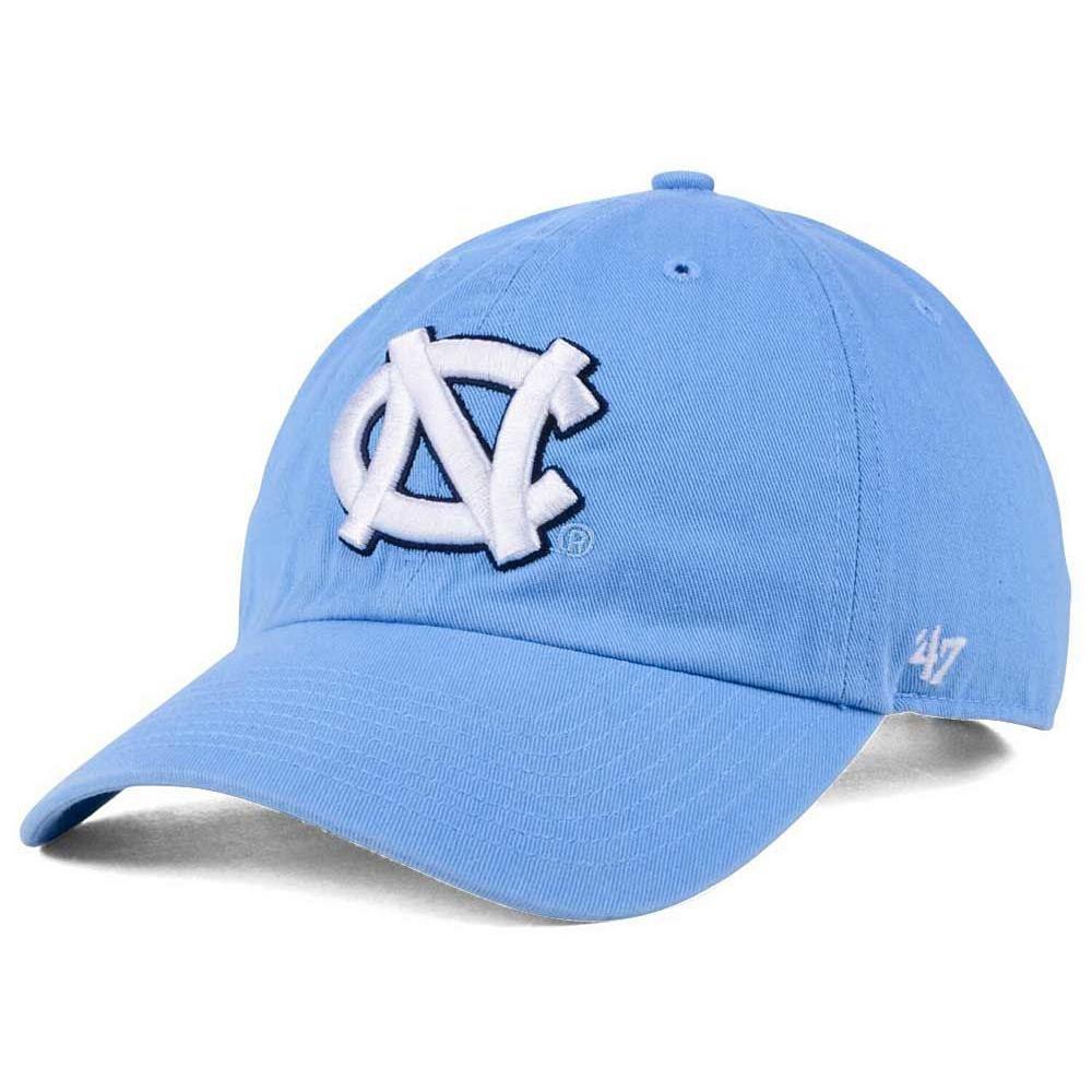 North Carolina Tar Heels '47 Clean Up Adjustable Hat - Carolina Blue