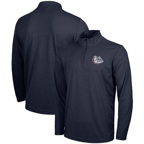 Gonzaga Bulldogs Nike Intensity Performance Quarter-Zip Pullover Jacket - Navy