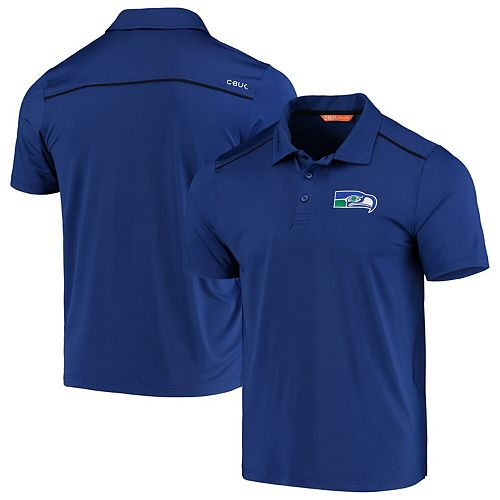 Seattle Seahawks CBUK by Cutter & Buck Throwback Chance Polo - Royal