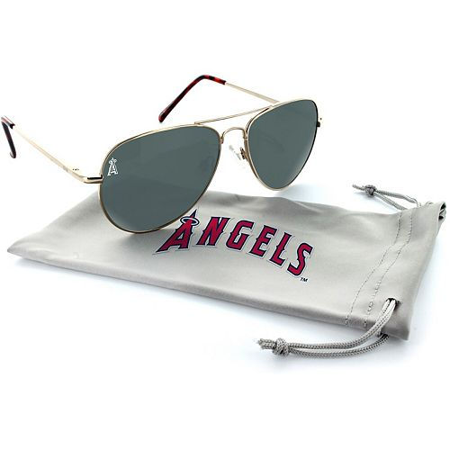 Los Angeles Angels Estrada Engraved Aviator Sunglasses