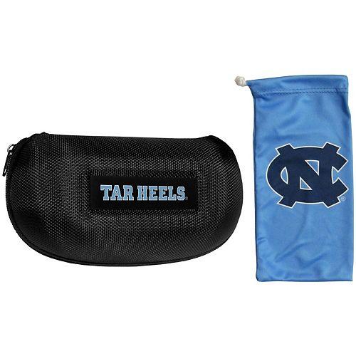 North Carolina Tar Heels Sunglasses Hard Case & Microfiber Bag Set