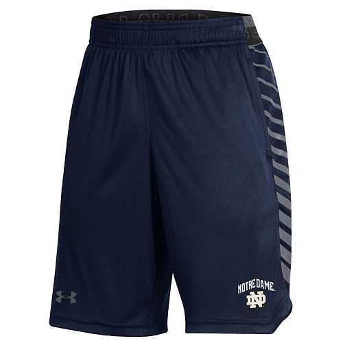 Youth Under Armour Navy Notre Dame Fighting Irish MK-1 Performance Shorts
