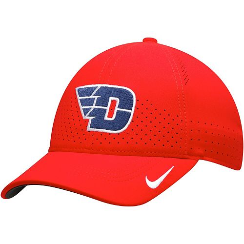Men's Nike Red Dayton Flyers Sideline Coaches Legacy 91 Performance Adjustable Hat