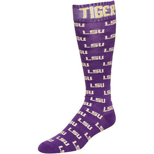 Purple LSU Tigers Dress Socks