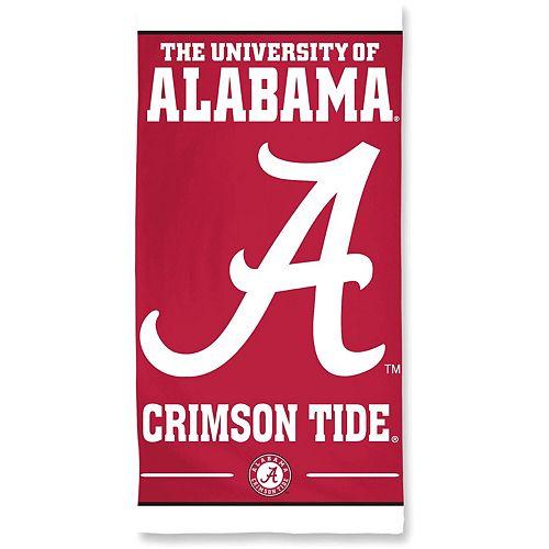 "WinCraft Alabama Crimson Tide 30"" x 60"" Striped Logo Beach Towel"