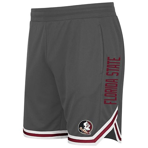 Men's Colosseum Charcoal Florida State Seminoles Continuity Shorts