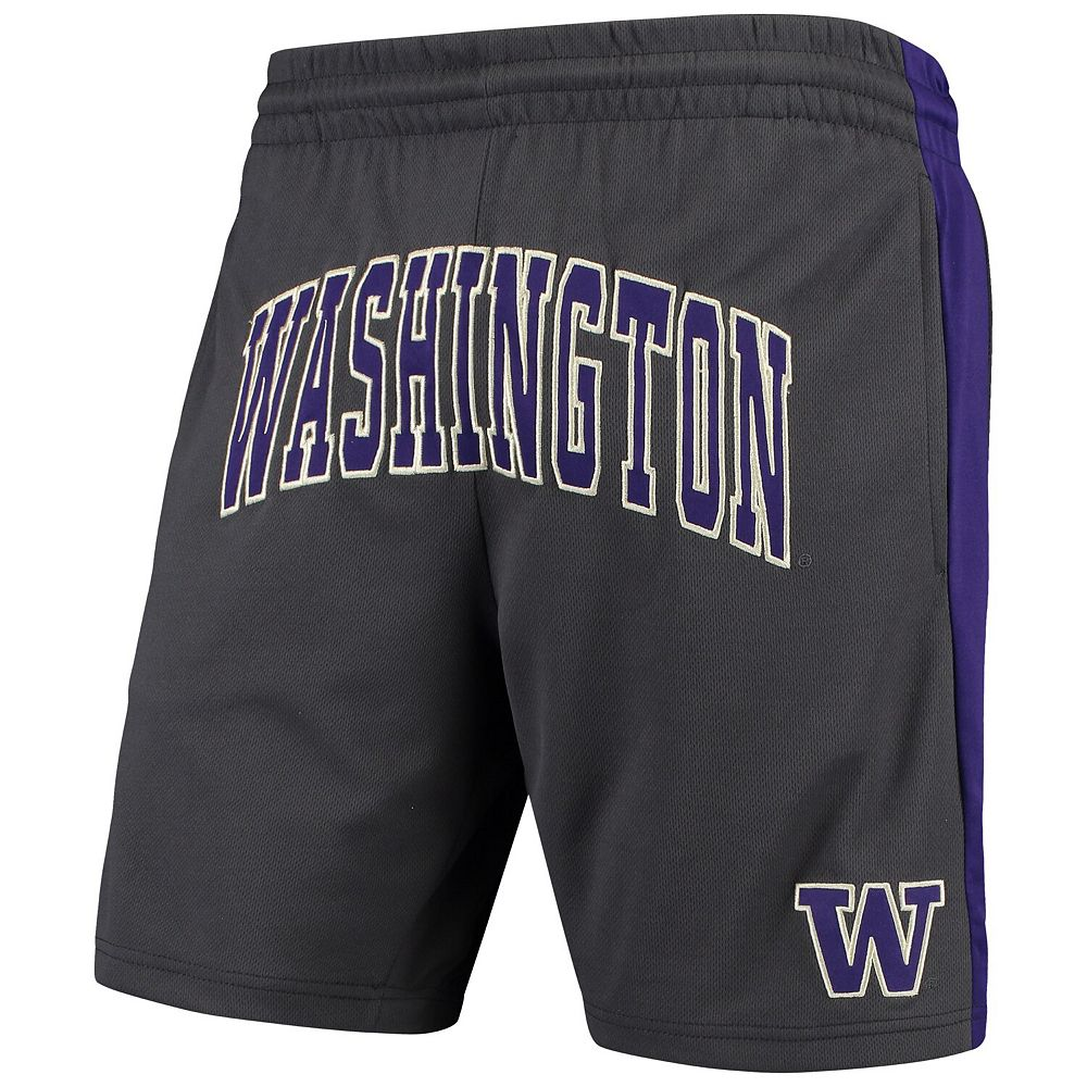 Men's Colosseum Charcoal Washington Huskies Motion Shorts