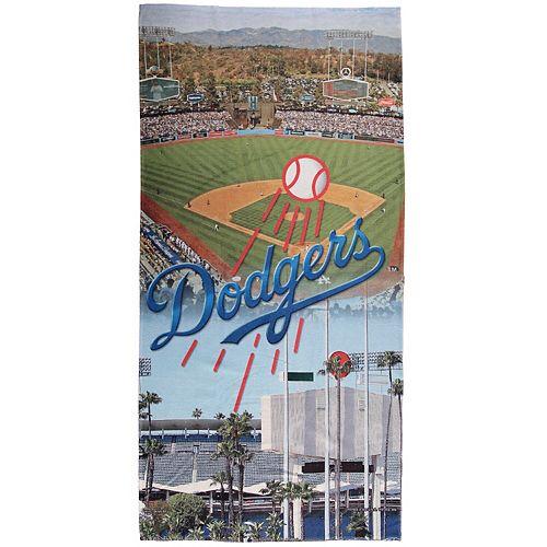 "WinCraft Los Angeles Dodgers 30"" x 60"" Ballpark Spectra Beach Towel"