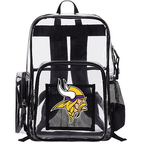 The Northwest Company Minnesota Vikings Dimension Clear Backpack