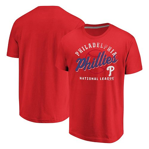 Men's Fanatics Branded Red Philadelphia Phillies Available T-Shirt