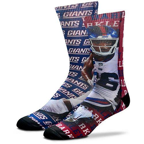 Youth For Bare Feet Saquon Barkley New York Giants Say My Name Crew Socks
