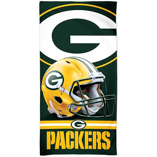"WinCraft Green Bay Packers 30"" x 60"" Spectra Beach Towel"