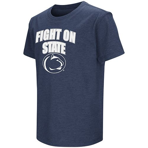 Youth Colosseum Navy Penn State Nittany Lions Bold Logo Chant T-Shirt