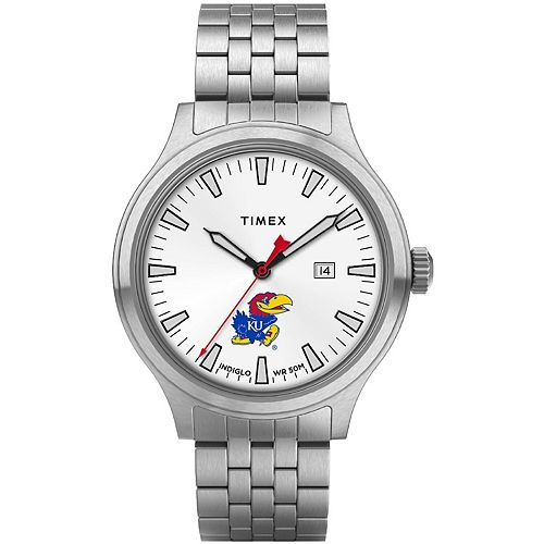 Men's Timex Kansas Jayhawks Top Brass Watch