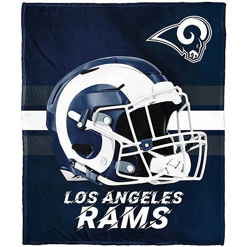 "The Northwest Company Los Angeles Rams 50"" x 60"" Protector Silk Touch Throw"