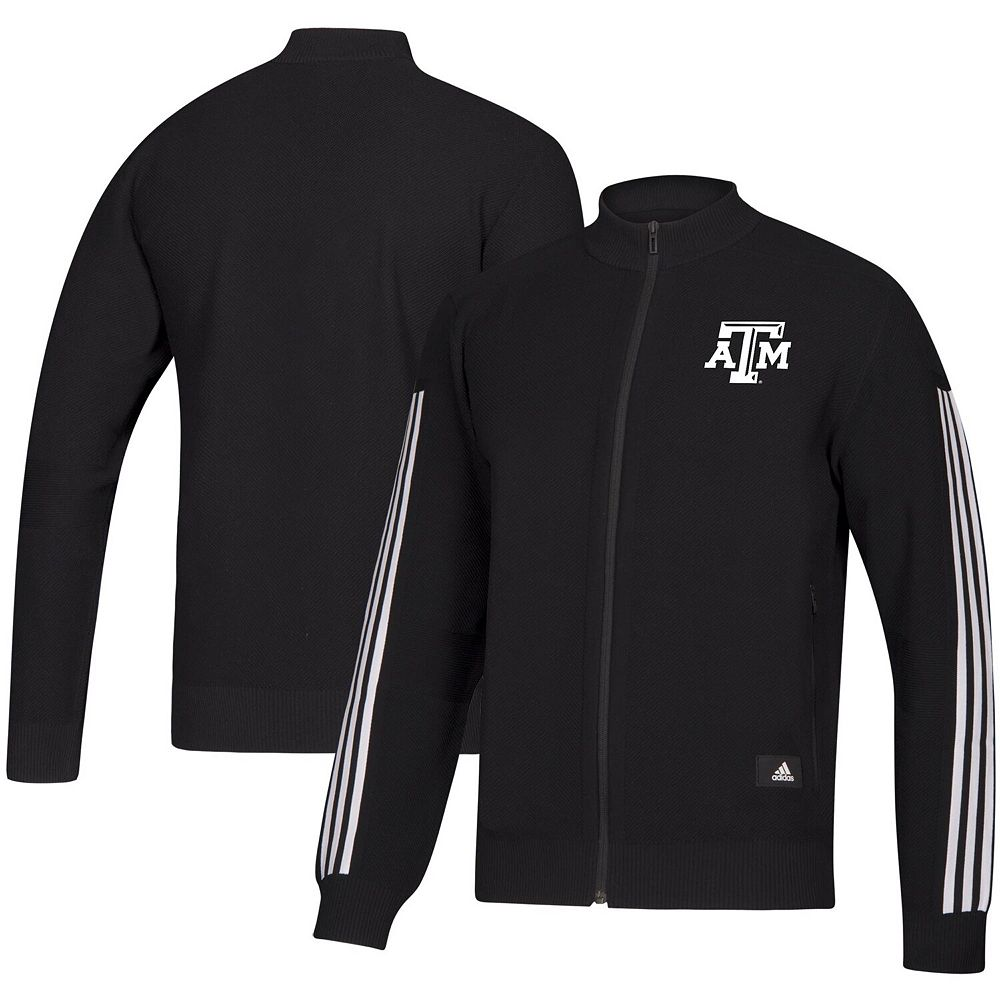 Men's adidas Black Texas A&M Aggies Stadium Track Jacket