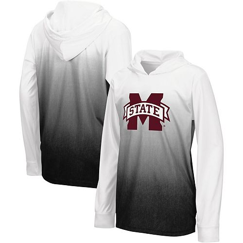 Youth Colosseum Black Mississippi State Bulldogs Magic Long Sleeve Hooded T-Shirt