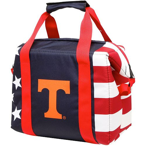 Tennessee Volunteers Twelve-Pack American Flag Cooler