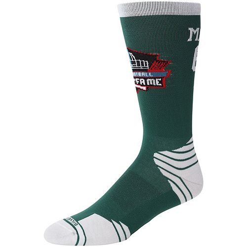 Men's Kevin Mawae New York Jets Hall of Fame Player Crew Socks