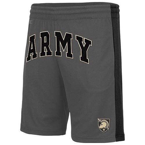 Men's Colosseum Charcoal Army Black Knights Motion Shorts