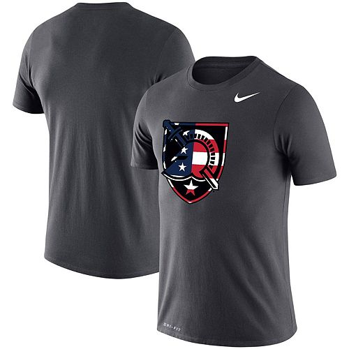 Men's Nike Anthracite Army Black Knights Americana Legend Performance T-Shirt