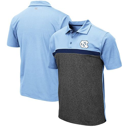 Men's Colosseum Carolina Blue North Carolina Tar Heels Capital City Polo