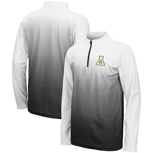 Youth Colosseum Black Appalachian State Mountaineers Magic Quarter-Zip Jacket
