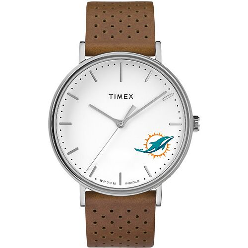 Timex Miami Dolphins Bright Whites Tribute Collection Watch