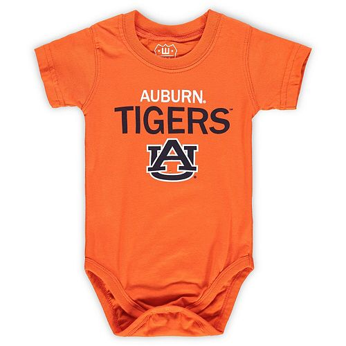 Infant Wes & Willy Orange Auburn Tigers Team Bodysuit