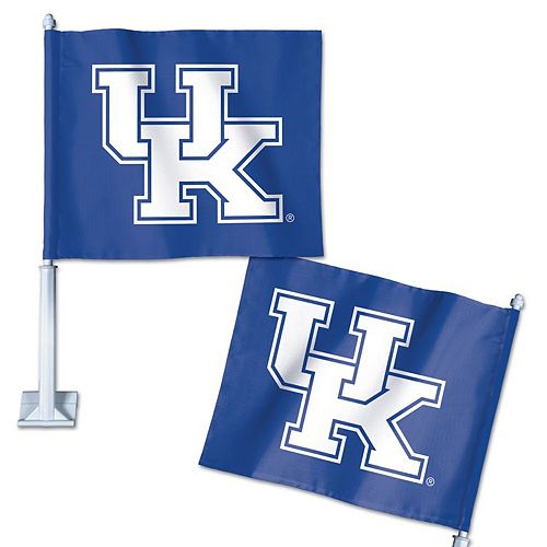 "WinCraft Kentucky Wildcats 12"" x 13"" Double-Sided Car Flag"