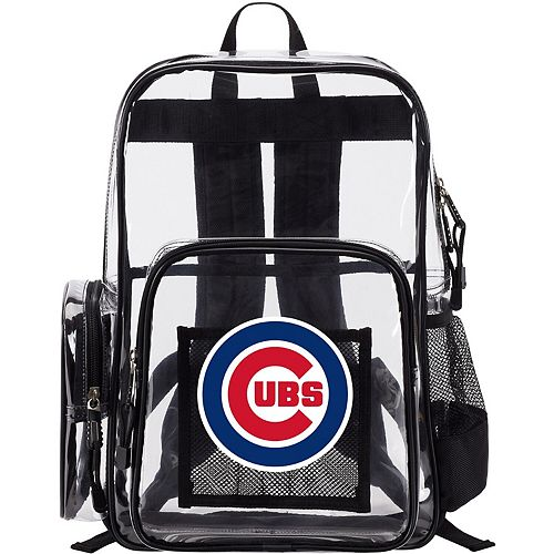 The Northwest Company Chicago Cubs Dimension Clear Backpack