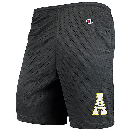 Men's Champion Charcoal Appalachian State Mountaineers College Mesh Shorts