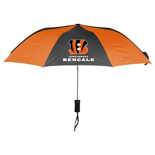 "WinCraft Cincinnati Bengals 42"" Folding Umbrella"