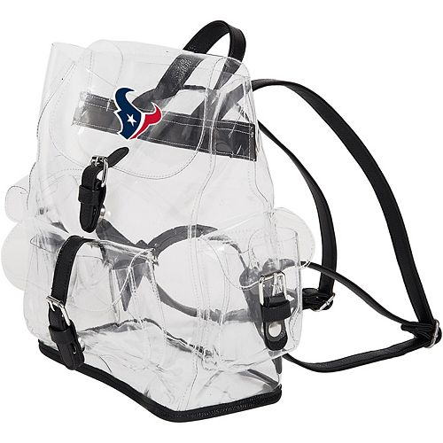 The Northwest Company Houston Texans Lucia Clear Backpack