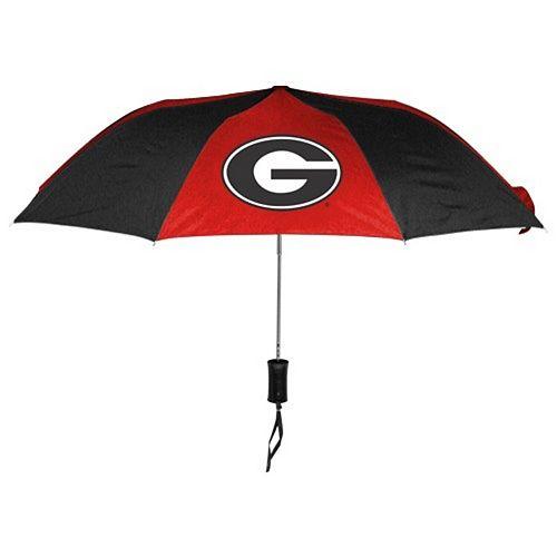 "WinCraft Georgia Bulldogs 42"" Folding Umbrella"