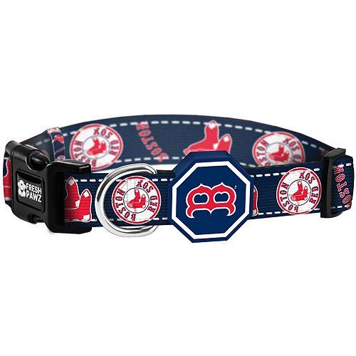 Boston Red Sox Fresh Pawz Pet Collar