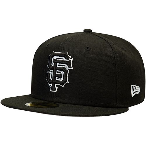 San Francisco Giants New Era B-Dub 59FIFTY Fitted Hat - Black