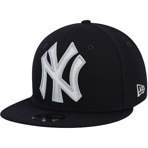 Youth New Era Navy New York Yankees Threads 9FIFTY Adjustable Hat