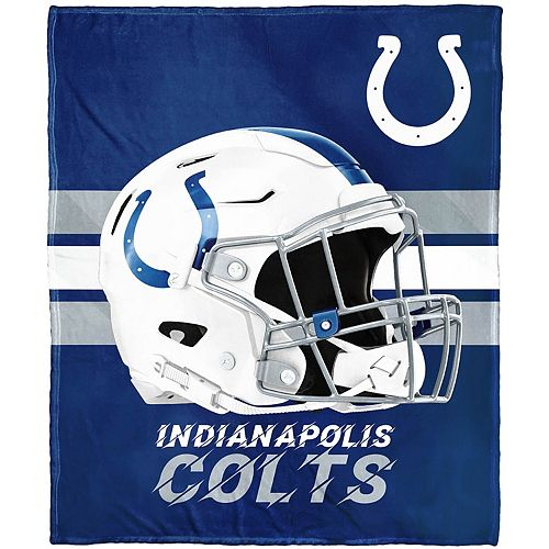 """The Northwest Company Indianapolis Colts 50"""" x 60"""" Protector Silk Touch Throw"""