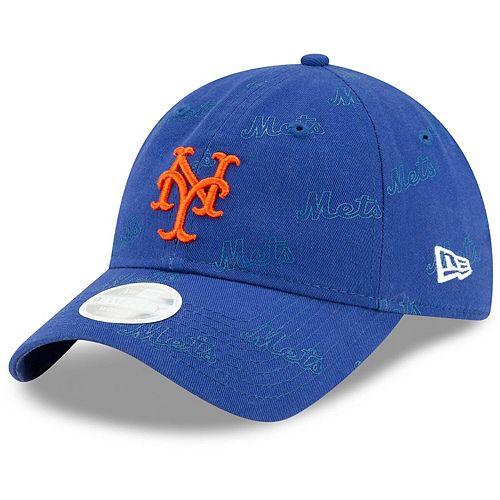 Women's New Era Royal New York Mets Worded 9TWENTY Adjustable Hat